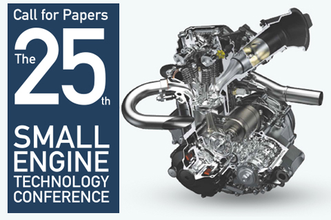 call for papers the 25th Small Engine Technology Conference